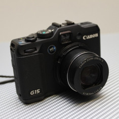 Canon Powershot G15 - Aparate foto compacte