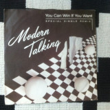 "Modern talking You Can Win If You Want Special single remix vinyl 7"" muzica pop, VINIL"