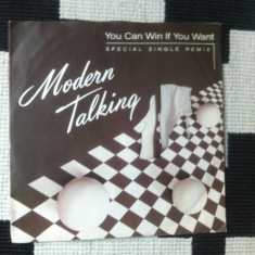 Modern talking You Can Win If You Want Special single remix vinyl 7