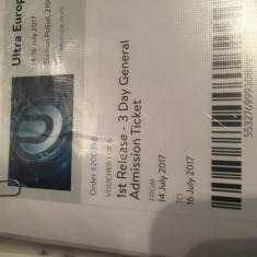 Bilet Ultra Music Festival Europe 2017 - Bilet concert