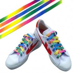 Sireturi multicolore raibow (curcubeu), Culoare: Din imagine