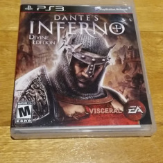 PS3 Dante's Inferno Divine edition - joc original by WADDER - Jocuri PS3 Electronic Arts, Actiune, 18+, Single player