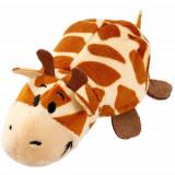 Mascota FlipZees 12.5 cm - Girafa si Hipopotam - Jucarii plus