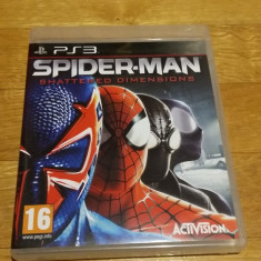 PS3 Spider-man Shattered dimensions Marvel - joc original by WADDER - Jocuri PS3 Activision, Actiune, 16+, Single player
