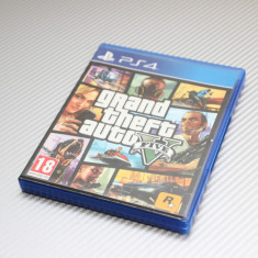 Grand Theft Auto V (GTA 5) PlayStation 4 (PS4) - Jocuri PS4, Actiune, 18+, Multiplayer