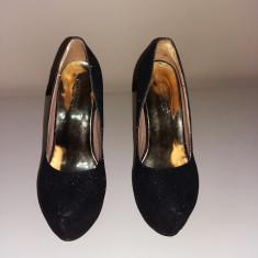 Pantofi eleganti Pasarora - Pantof dama Tod's, Culoare: Negru, Marime: 36, Cu toc