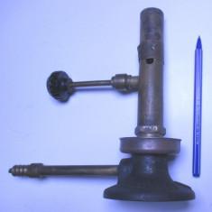 Lampa gaz spirt veche f. rara Barthel anii 20 arzator bec teclu primus aragaz - Aragaz/Arzator camping