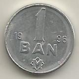 MOLDOVA  1  BAN  1996  [2]  VF  ,   livrare in cartonas, Europa, Aluminiu