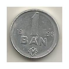 MOLDOVA 1 BAN 1996 [2] VF, livrare in cartonas, Europa, Aluminiu
