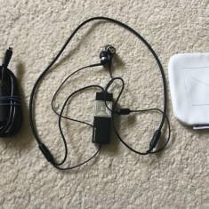 Casti Bluetooth Sennheiser MM 200 + cablu incarcare si husa, sunet de calitate, Casti In Ear