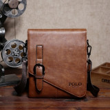 Geanta POLO  VIDENG - de umar din piele PU ecologica 21x17x3,5 cm