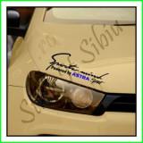 Sticker Far-Sports Mind-Opel Astra_Tuning Auto_Cod: FAR-044_Dim: 25 cm. x 9.2