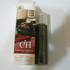 PARFUM 40 ML CAROLINA HERRERA CH MEN --SUPER PRET, SUPER CALITATE! - Parfum barbati Carolina Herrera, Apa de toaleta
