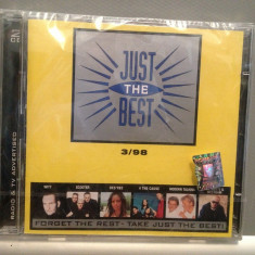 Just The Best 3/'98 -2CD - Various Artists (2009/Sony) - CD NOU/SIGILAT/ORIGINAL - Muzica Dance sony music