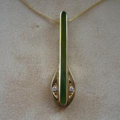 LICHIDEZ COLECTIE- COLIER ART DECO - Colier aur