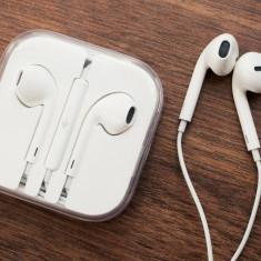 Casti Iphone Apple Originale - Microfon Incorporat Handsfree Earpods - Handsfree GSM