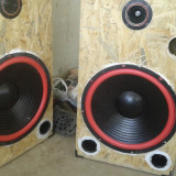 Set 2 boxe 4ohm 300w Rms