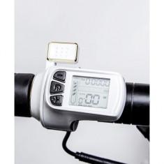 Trotineta electrica pliabila Joyor Unico Black/White, 500W, 35km/h, autonomie 50 - Trotineta adulti