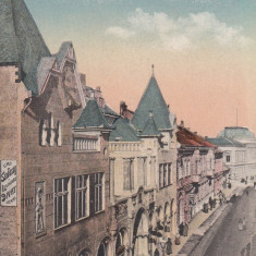 ARAD, STRADA WEITZER, TRASURA, MAGAZINE - Carte Postala Crisana 1904-1918, Necirculata, Printata