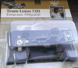 Macheta metal Formula 1 Lotus 72D 1972 Fittipaldi - Altaya F1 1/43, 1:43