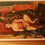 Iosif Iser - Arlechin si dansatoare - Pictor roman, Scene gen, Ulei, Altul