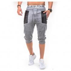 Pantaloni scurti barbati P286 Gri - Bermude barbati, Marime: XXL, Culoare: Din imagine, Bumbac