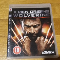 PS3 X-men origins Wolverine Uncaged edition Marvel - joc original by WADDER - Jocuri PS3 Activision, Actiune, 18+, Single player