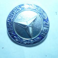Emblema Mercedes Benz, metal si email, d= 4, 7 cm, numerotata - Embleme auto