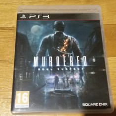 PS3 Murdered soul suspect - joc original by WADDER - Jocuri PS3 Square Enix, Actiune, 16+, Single player