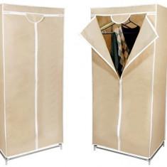 Dulap textil pentru haine, cu husa de protectie