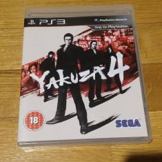 PS3 Yakuza 4 - joc original by WADDER - Jocuri PS3 Sega, Actiune, 18+, Single player