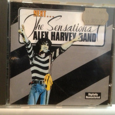 The Sensational Alex Harvey Band - Next (1992/Phonogram/Germany) - CD ORIGINAL - Muzica Rock universal records