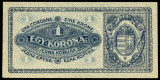UNGARIA BANCNOTA DE 1 KORONA COROANA 1920 NECIRCULATA UNC