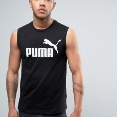 Tricou/Maieu Puma Ess. No 1 - Anglia - Bumbac - Marimi S, M, L - Detalii in anunt, Culoare: Negru