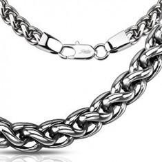 Lanț oțel chirurgical - fir răsucit lucios, diferite mărimi, patinat - Lantisor inox