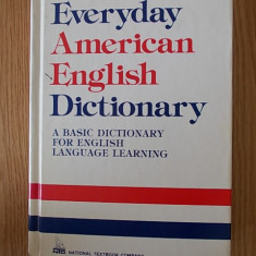 EVERYDAY AMERICAN ENGLISH DICTIONARY - Curs Limba Engleza Altele