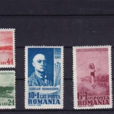 ROMANIA 1938, LP127, CENTENARUL PICTORULUI NICOLAE GRIGORESCU - Timbre Romania, Nestampilat