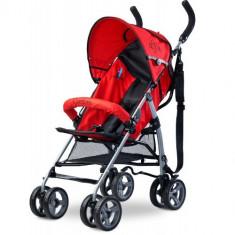 Carucior Sport Alfa red - Carucior copii 2 in 1 Caretero