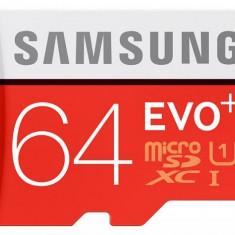 Card memorie Samsung Evo+ MB-MC64D/EU microSDHC 64 GB clasa 10 UHS-1