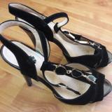 Sandale elegante - Sandale dama, Culoare: Negru, Marime: 36