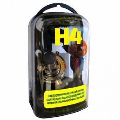 Trusa 7 becuri si 3 sigurante auto H4, P43T RoGroup