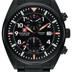 Swiss Military SM34222AEU/H01MS ceas barbati nou 100% original. Livrare rapida - Ceas barbatesc Swiss Military, Casual, Quartz, Inox, Cronograf