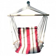 Hamac scaun suspendat, Strend Pro Craig, 100X50 cm, 150 Kg, din bumbac