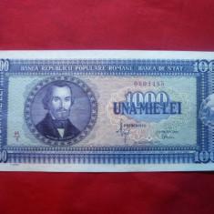 Bancnota 1000 lei 1950 20 sept.N.Balcescu, cal. aproape NC - Bancnota romaneasca