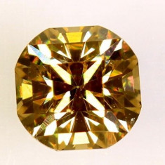 Diamant galben maroniu superb