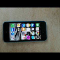 Vand iPhone 5C Apple, 16GB, Albastru, Orange