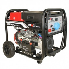 Generator de sudura Senci SC-200A, putere max. 5.5 kW, monofazat, demaraj electric