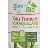 Apa micelara demachianta Born to Bio cu aloe vera si bambus, 250 ml