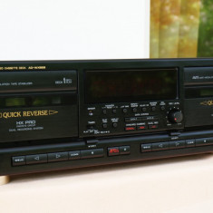 Dublu casetofon Deck autorevers AIWA AD-WX929 cu telecomanda - Deck audio