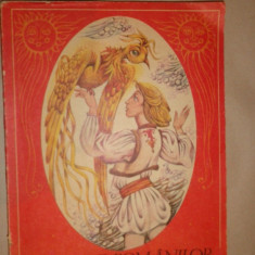 Basmele romanilor vol.2 ( ilustratii Done Stan ) an 1987/203pagini - Carte Basme